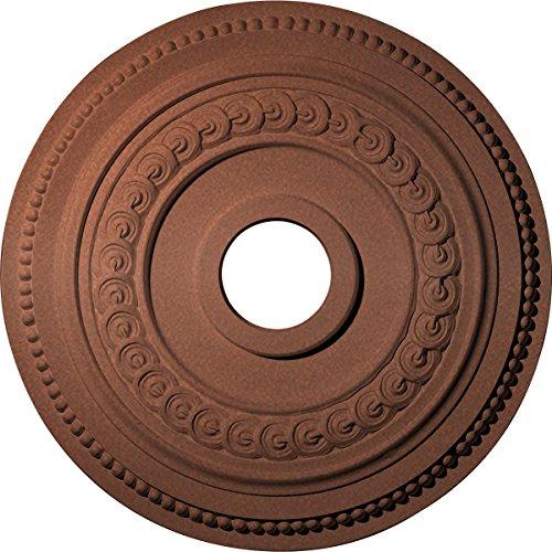 Ekena Millwork CM18OL1CPS Oldham Ceiling Medallion, Copper Penny