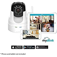 D-Link DCS-5222L HD Pan & Tilt Wi-Fi Camera White (Certified Refurbished)