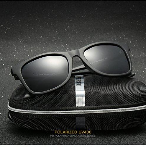 De Hombre C2 C1 UV Sol Gafas Protección Mujer 400 Polarizadas Aviator para para p17Hw