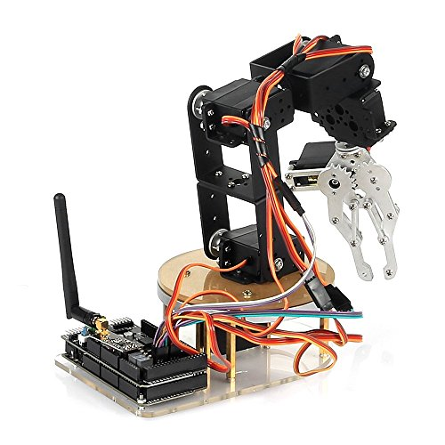 SainSmart DIY Control Palletizing Robot Arm Model for Arduino UNO MEGA2560 (6-Axis DIY KIT)