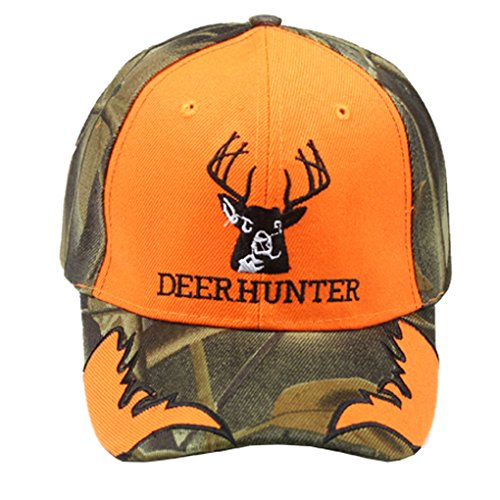 Deer Halloween Costumes (Silver Fever Classic Baseball Hat 100% Adjustable Unisex Trucker Cap - Made to Last (Deer Hunter))