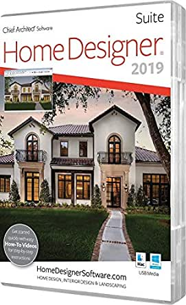 home designer suite amazon com chief architect home designer suite 2019 software 3514
