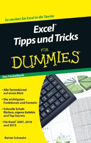 Excel Tipps und Tricks für Dummies: Das Pocketbuch