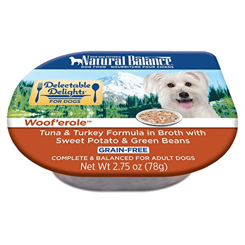 Natural Balance Delectable Delights Wet Dog Food Cups, Woof'