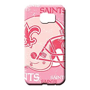 samsung galaxy s6 edge Ultra Bumper Awesome Phone Cases mobile phone skins new orleans saints nfl football