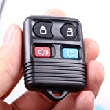 Remote Key Replacement Case Shell 4 Button Pad for Ford [Electronics]
