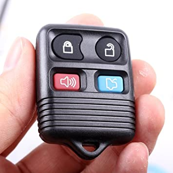 Remote Key Replacement Case Shell 4 Button Pad for Ford [Electronics]  sc 1 st  Amazon.com & Amazon.com: Remote Key Replacement Case Shell 4 Button Pad for ... markmcfarlin.com
