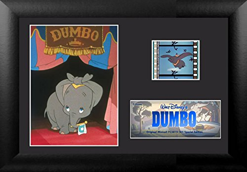 Film Cell Genuine 35mm Framed & Matted Walt Disney Dumbo Circus Minicell (S3) USFC5815