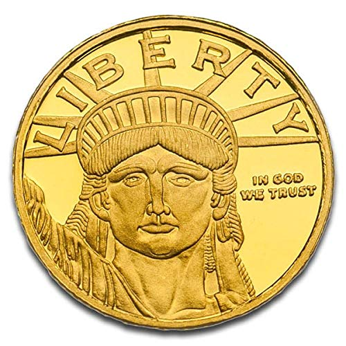 1/10 Oz Lady Liberty Gold Rounds by Money Metals Exchange