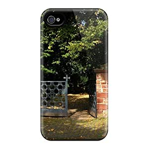For Iphone 4/4s Tpu Phone Case Cover(graveyard Gate) by Maris's Diary