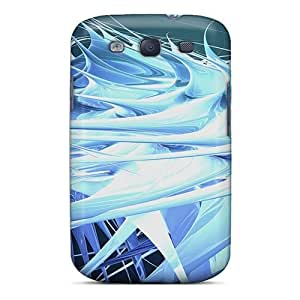 Durable Cases For The Galaxy S3- Eco-friendly Retail Packaging(strands 3d)