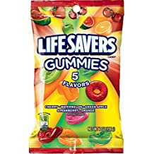 Life Savers 5 Flavors Gummies Candy Bag, 7 ounce
