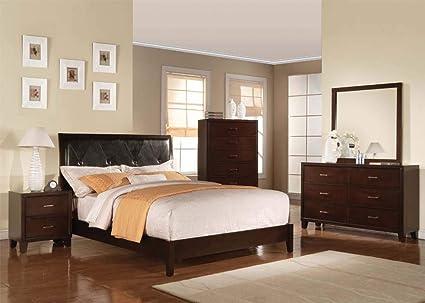 Amazon.com: Esofastore Master Bedroom Furniture Set 4PCS ...