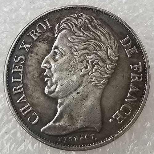 Moneda conmemorativa de Napoleón francés DDTing Best Silver Coins 1828 - Coleccionador de monedas antiguas de Francia, dólar de plata envejecida, dólar de morgan, chapado en plata: Amazon.es: Hogar