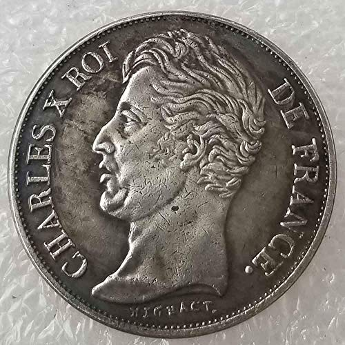 - NiuChong Best US Coins - 1828 French Napoleon Commemorative Coin -France Old Coin Collecting-US Dollar Old Morgan Dollar -Plated US Love it