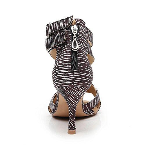 Contempóraneo Mujer Joymod Brown Y Jazz MGM Heel 5cm 7 npgaxtp