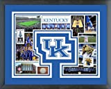 Kentucky Wildcats Photo Collage Matted & Framed 12.5'' x 15.5''