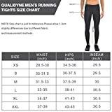 qualidyne Men's Running Tights Cycling Pants