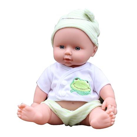 Amazon Com Ovovo Reborn Newborn Baby Doll Soft Vinyl Silicone