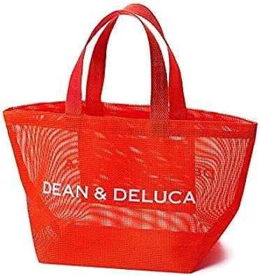 Amazon Dean Deluca メッシュトートバッグ ブラッドオレンジ S ディーンアンドデルーカ シューズ バッグ