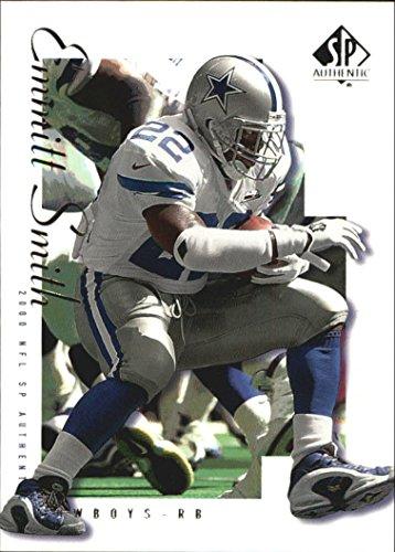 Emmitt Smith Memorabilia (2000 SP Authentic #22 Emmitt Smith Card)