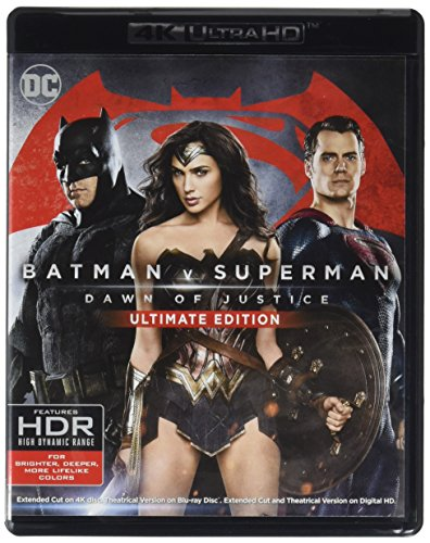 Batman v Superman: Dawn of Justice, Ultimate Edition [Blu-ray] (Ben Affleck Best Batman)