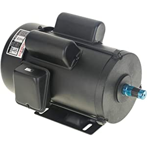 Grizzly H5388 3 HP Motor with Single-Phase
