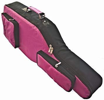 Funda para guitarra Hero 6, color rosa y negro: Amazon.es: Electrónica