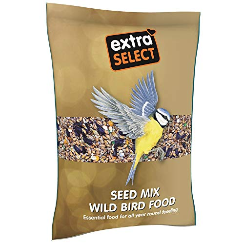 Extra Select Seed Mix Wild Bird Food, 1 kg