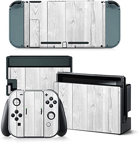 Nintendo Switch Skin Design Foils Faceplate Set - White Wood ...