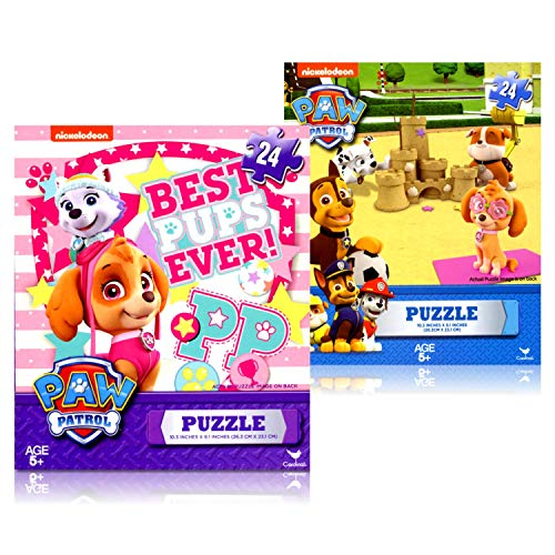 Paw Patrol 24 Piece Puzzles 2 Pack