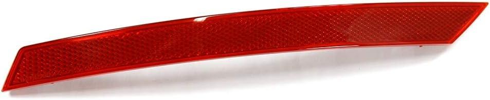 ABS Left /& Right Rear Bumper Reflector for 2010-2014 Yctze 2Pcs Bumper Reflector