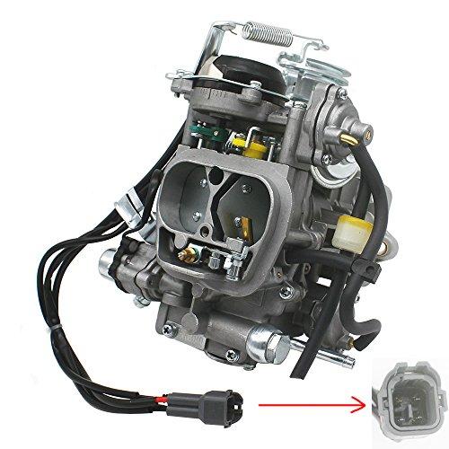 (KIPA Carburetor for Toyota 22R 2.4L 3.0L Engine 1981 Corona 1981-1984 Celica 1981-1995 PickUp 1984 4Runner 1981-1988 Hilux Replace OEM part number 21100-35520 2110035520 Electric)