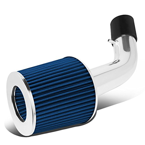 For Hyundai Tiburon 2.0L L4 Lightweight Hi-Flow Air Intake System+Cone Filter (Blue)