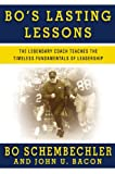 Bo's Lasting Lessons, Bo Schembechler and John U. Bacon, 0446581992