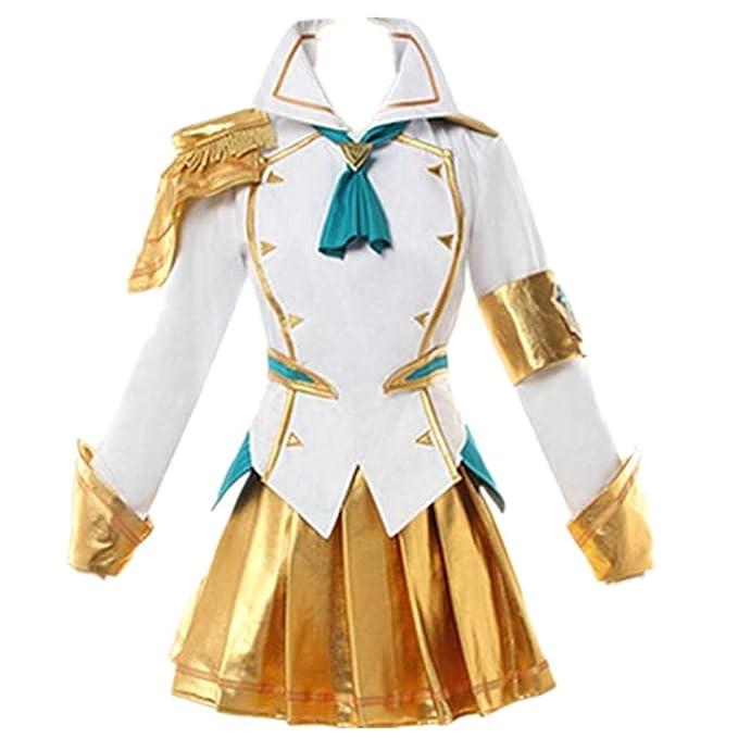 Amazon.com: LOL Lux Disfraz de Cosplay Battle Academia ...