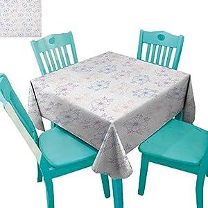 "Anemone Flower Dinning Tabletop DecorBridal Corsage Design Garden Bedding Plants in Soft Colors 36""x36"",Suitable for Kitchen, dustproof Desktop Decoration 18"