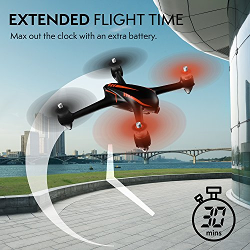 Force1 Drone with Camera Live Video and GPS Return Home Brushless Motors HD Drone 1080p Camera FPV MJX B2W Bugs 2 Quadcopter by Force1 (Image #4)