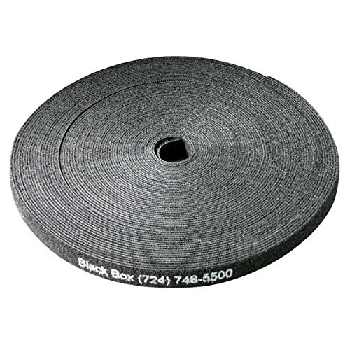 Black Box (8) 75-ft. Rolls Black 5/8''x75' Hook and Loop Bundle Cable Wrap