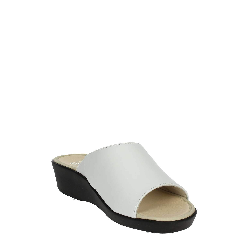 Scholl/ Ciabatte Donna LOIRA in Pelle Bianco F26629-1065-390