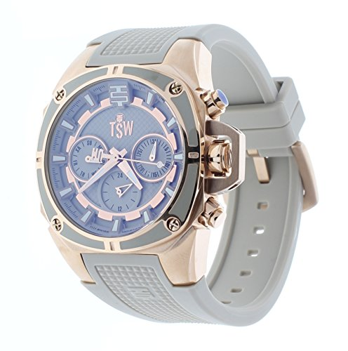 Technosport Multifunction GMT Rose Gold - Beige Sports Women's Watch TS-100-S40