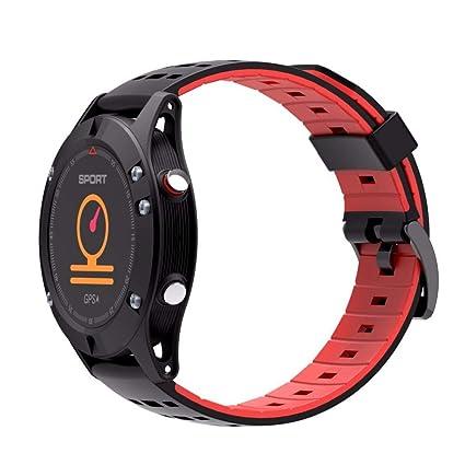 Amazon.com: f5 GPS Smart Watch Waterproof Android iOS wear ...