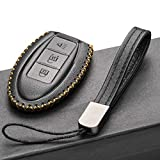 Vitodeco Leather Smart Key Fob Case Cover for