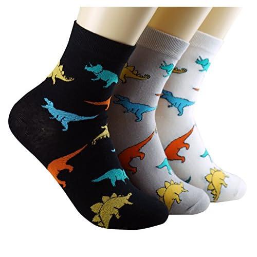 Cheap Dasom Cotton Dinosaur Crew Socks