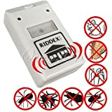New Applied Riddex Plus Electronic Ultrasonic Household Residential Pest Mouse Rodent JMHG Control Repeller 110V US flat plug by Womendky