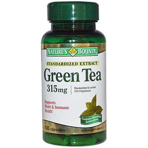 Cheap Nature's Bounty, Green Tea, 315 mg, 100 Capsules – 2pc