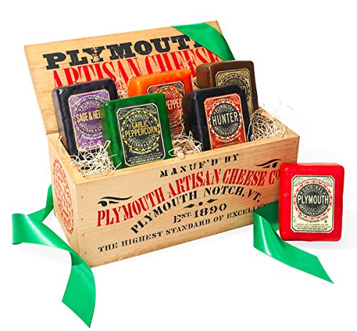 Plymouth Cheese Giftbox with 6 varieties of Artisan cheese