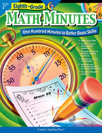 CREATIVE TEACHING PRESS CTP2636 MATH MINUTES - 8TH GRADE   B001AZ9U1O