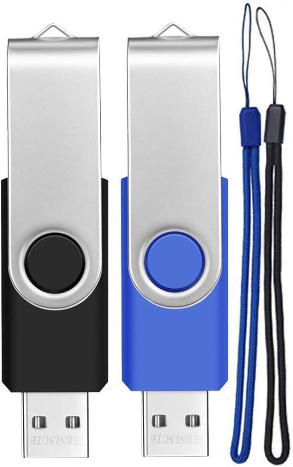 Usb Stick 8gb 2 Stück Speicherstick Einklappbarer Bunt Elektronik