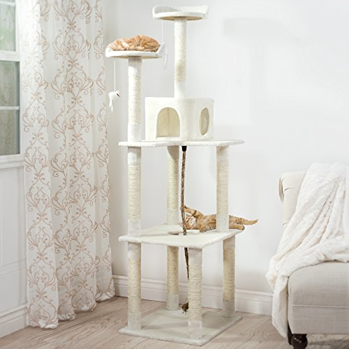 PETMAKER-Sleep-and-Play-Cat-Toy-Tree-6-Ivory